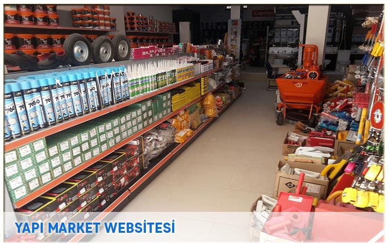 Fıçıcılar Yapı Market Websitesi
